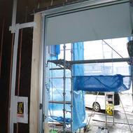 富士吉田市新西原U.H様邸          トリプルガラス樹脂窓が搬入されました!
