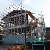 西桂町倉見 W.Y様邸 工事状況。