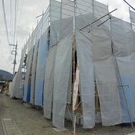 富士吉田市大明見 T.S様邸 工事状況。