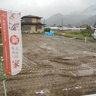 富士河口湖町河口 SEASONSアパート 地盤調査