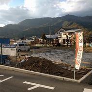 富士河口湖町河口 SEASONSアパート 基礎配筋。