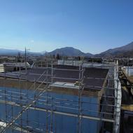 富士河口湖町河口SEASONSアパート外断熱工事