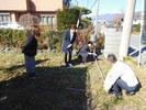 富士吉田市新西原H.K様邸地鎮祭です。