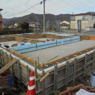 富士吉田市新西原H.K様邸工事状況です。