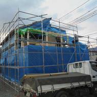 富士吉田市新西原H.K様邸上棟です。