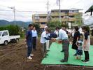 富士吉田市松山W.H様邸 地鎮祭です。