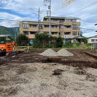 富士吉田市松山 W.H様邸基礎工事が始まりました。