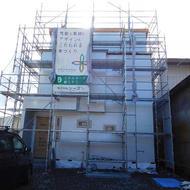 富士吉田市竜ヶ丘二丁目K.T様邸工事状況です。