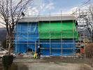 富士河口湖町勝山S.H様邸新築工事 上棟