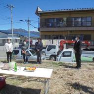 富士吉田市上吉田東三丁目にて土地お清めを行いました。