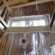 南都留郡山中湖村平野H.A様邸断熱気密施工完了です。
