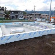富士河口湖町船津O.Y様邸工事状況です。