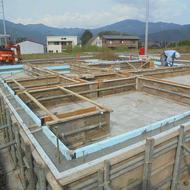 富士河口湖町船津O.Y様邸基礎工事です。