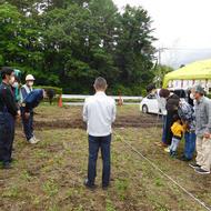 富士吉田市松山I.K様邸地鎮祭でした。
