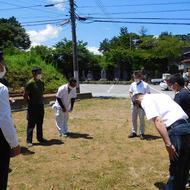 富士吉田市新町3丁目T.M様邸地鎮祭です。
