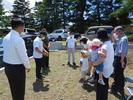 富士吉田市新西原4丁目T.Y様邸地鎮祭です。